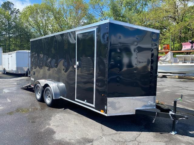 "2022 Cargo Express 7x16 Enclosed Cargo Trailer With 6"" Addt'l Height 2024178"