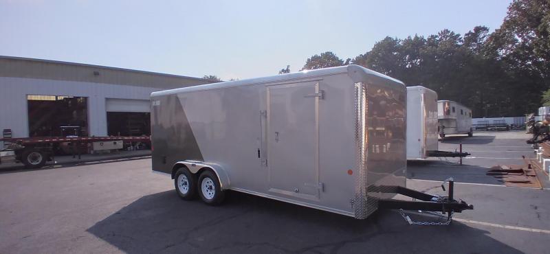 2021 Car Mate 7x18 Enclosed Cargo Trailer 2024728