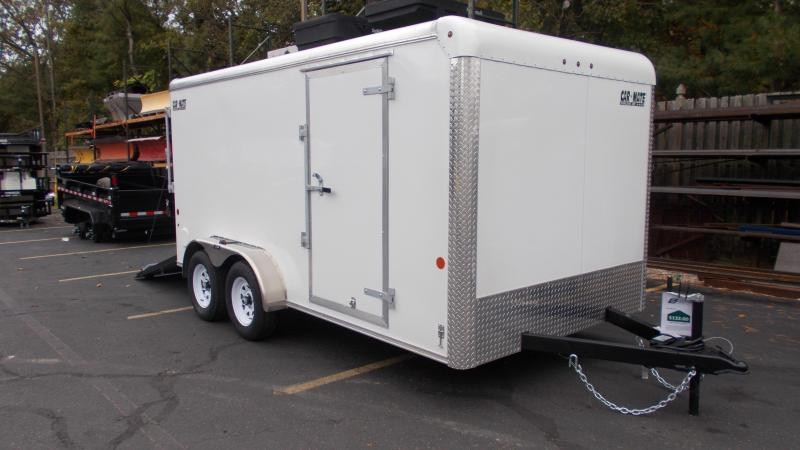 2021 Car Mate Trailers 7x14 Cargo Trailer 2023124