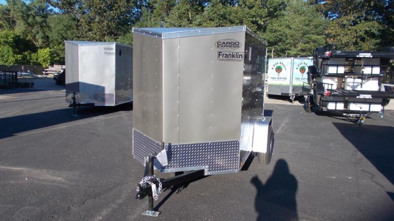 2021 Cargo Express 5 X 8 Enclosed Cargo Trailer 2022885
