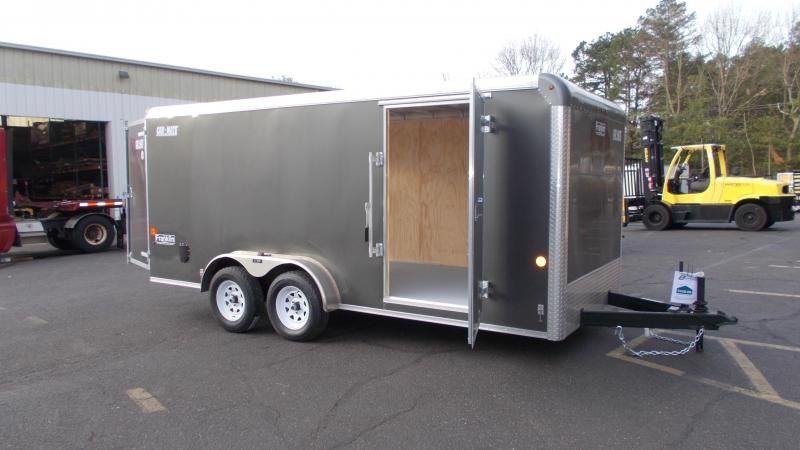 2021 Car Mate 7x16 Enclosed Cargo Trailer 2023304
