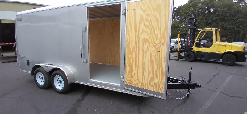 """2021 Car Mate 7x16 Enclosed Cargo Trailer with 6"""" Addt'l Height 2024843"""