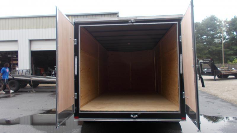 2021 Lark 7X16 V-Nose Enclosed Cargo Trailer 2022862