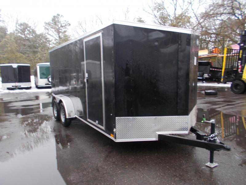 2022 Cargo Express 7x16 V-Nose  Enclosed Trailer 2023578