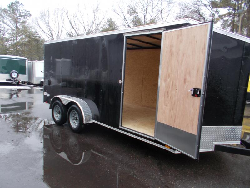 2022 Cargo Express 7x16 V-Nose  Enclosed Trailer 2023578