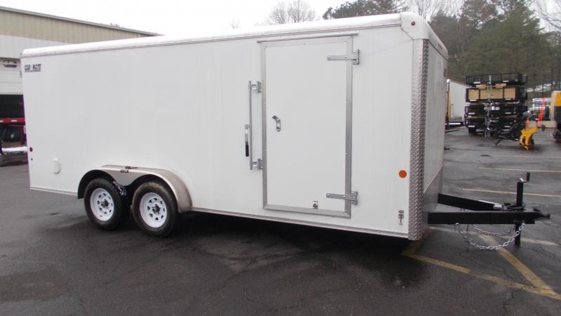 2021 Car Mate 7x18 Enclosed Cargo Trailer 2023383