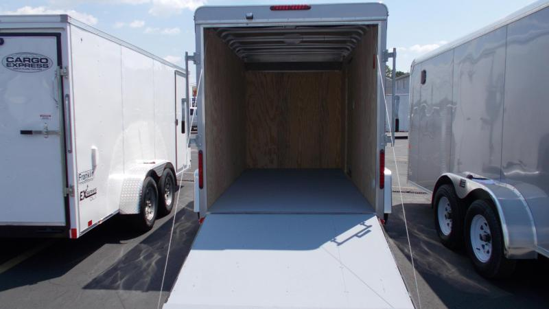 "2020 Car Mate 6 x 12 Cargo Trailer w/ 6"" ADD HGHT 2022330"