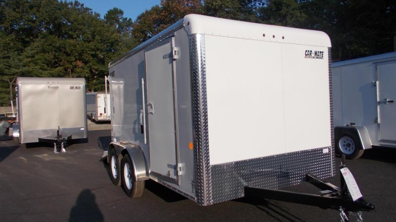 2021 Car Mate Trailers 7 x 12 Tandem Axle Custom Enclosed Cargo Trailer 2022891