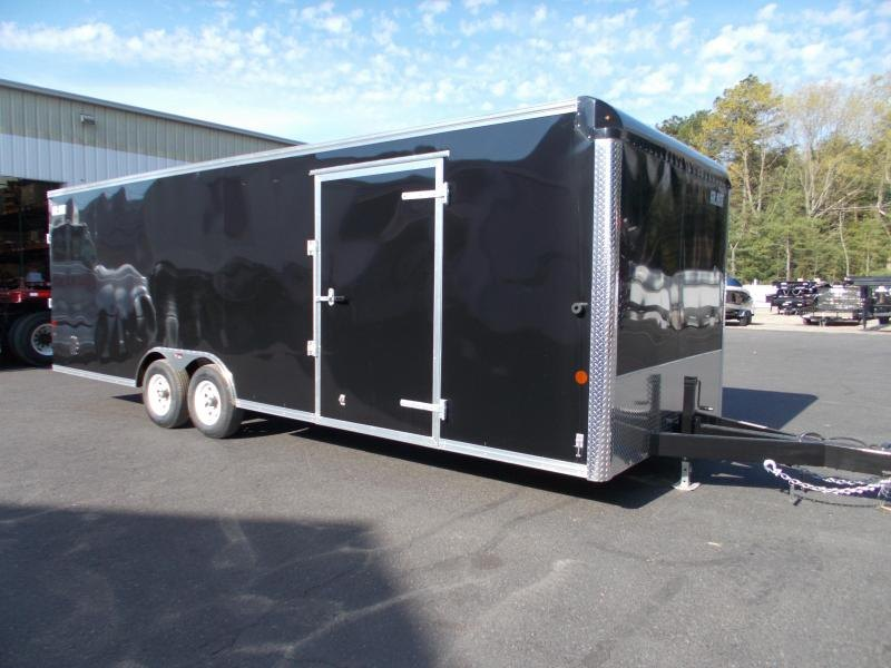 2021 Car Mate 8.5x24 10K Enclosed Landscaper Trailer 2024133