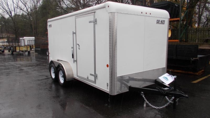 2021 Car Mate 7x14 Enclosed Cargo Trailer 2023292