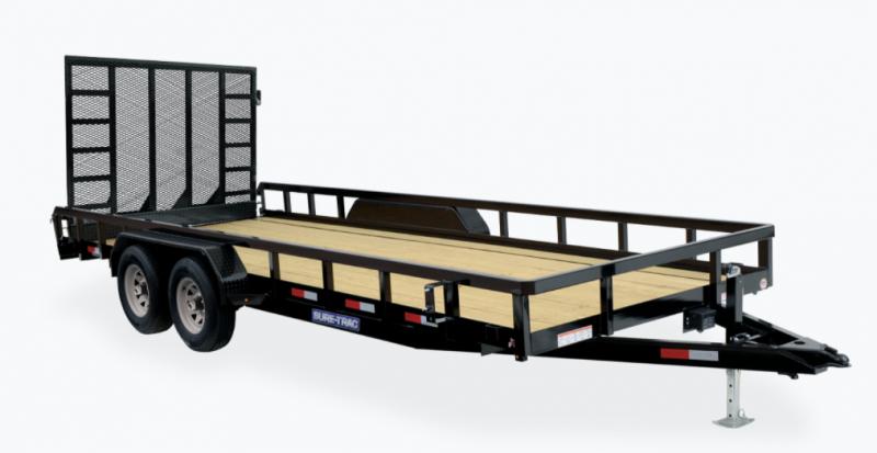 2021 Sure-Trac ST8220TAT-B-100 Utility Trailer