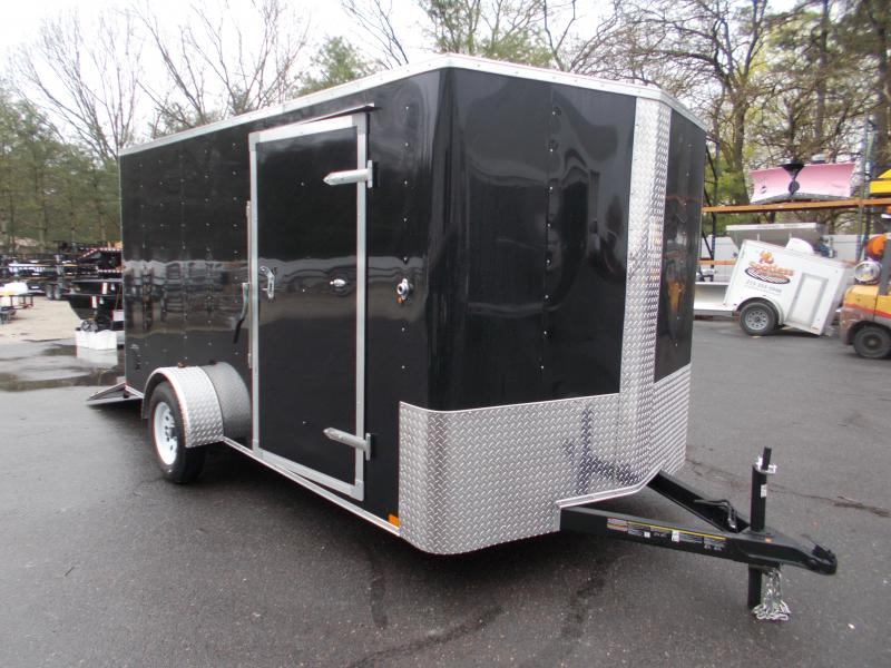 2021 Carry On 7x14 Bull Nose Cargo / Enclosed Trailer 2024019