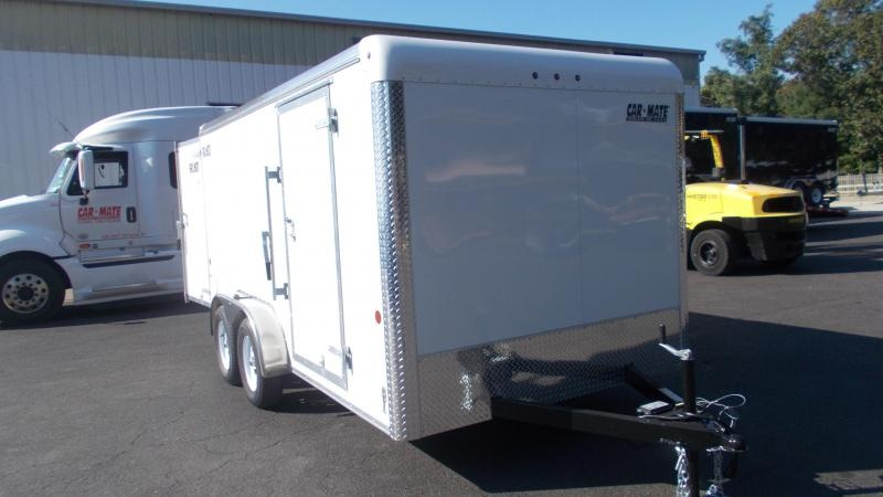 2021 Car Mate Trailers 7 X 14 Tandem Axle Custom Enclosed Cargo Trailer 2022897