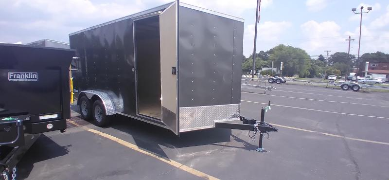 """2021 Cargo Express 7x16 7K Enclosed Cargo Trailer with 6"""" Addt'l Height 2024582"""