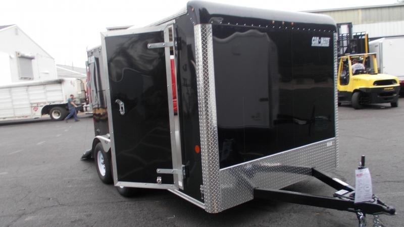 2021 Car Mate Trailers 7 X 12 Tandem Axle Custom Enclosed Cargo Trailer 2022704