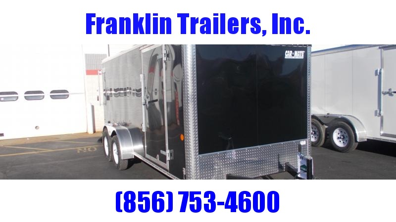 2020 Car Mate 7X16 Tandem Axle Enclosed Cargo Trailer 2021963