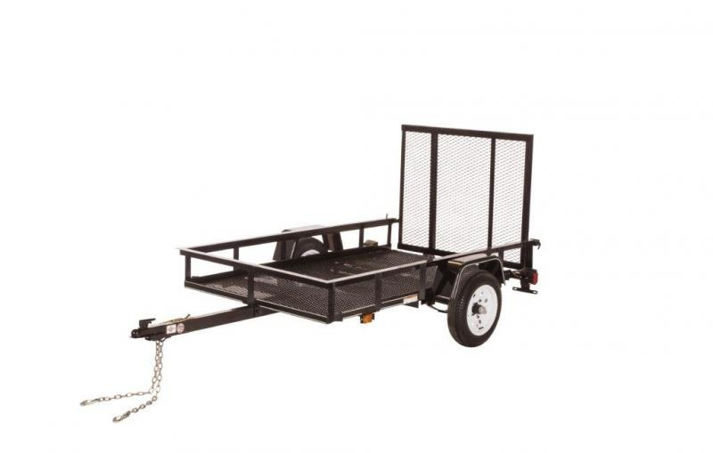 2021 Carry-On 4x7 Scratch and Dent Utility Trailer 2023156