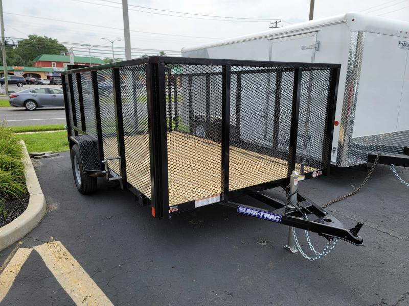 2021 Sure-Trac 7 x 12 High Side Tube Top Utility Trailer 2024580