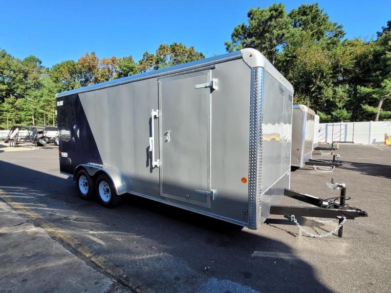 """2021 Car Mate 7x18 Enclosed Cargo Trailer with 6"""" Addt'l Height 2024780"""