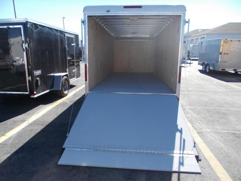 2021 Car Mate Trailers CM718CC-HD Enclosed Cargo Trailer