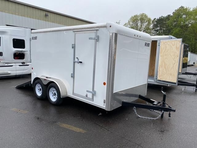 2021 Car Mate 7x12 7K Enclosed Cargo Trailer 2024174