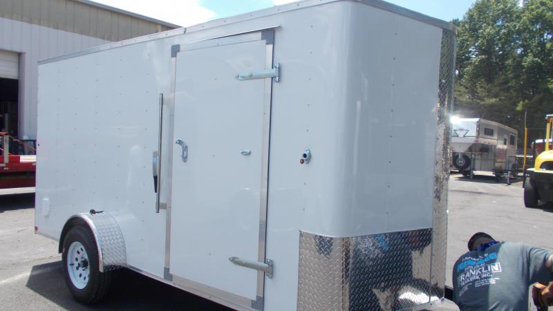 2020 Carry-On 6X14 Bull Nose Enclosed Cargo Trailer 2022470