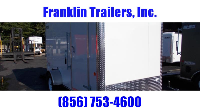 """2021 Car Mate Trailers 6X12 Enclosed Cargo Trailer W/ 6'"""" Additional Height 2022611"""