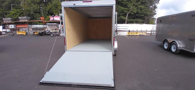 """2021 Car Mate 7x16 Enclosed Cargo Trailer with 6"""" Addt'l Height 2024840"""