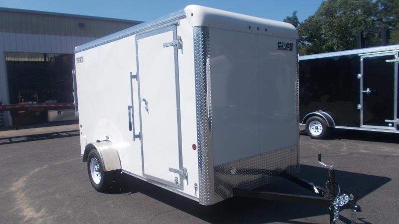 "2021 Car Mate Trailers E612CM3 Enclosed Cargo Trailer W/ 6'"" Additional Height 2022947"