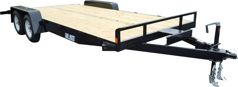 2020 Car Mate Trailers CM818A-CT/W Full Treated Plank Deck Car / Racing Trailer 2021758