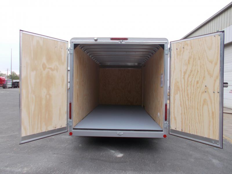 "2021 Car Mate 7x16 7K Enclosed Cargo Trailer With 6"" Addt'l Height 2024168"