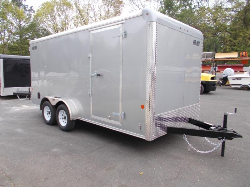 """2021 Car Mate 7x16 7K Enclosed Cargo Trailer With 6"""" Addt'l Height 2024168"""