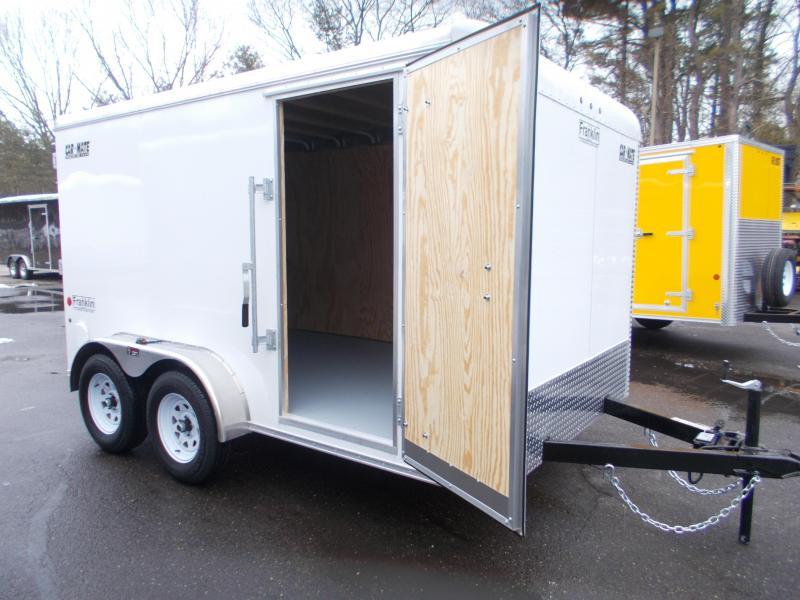 2021 Car Mate 7x12 Enclosed Cargo Trailer 2023551