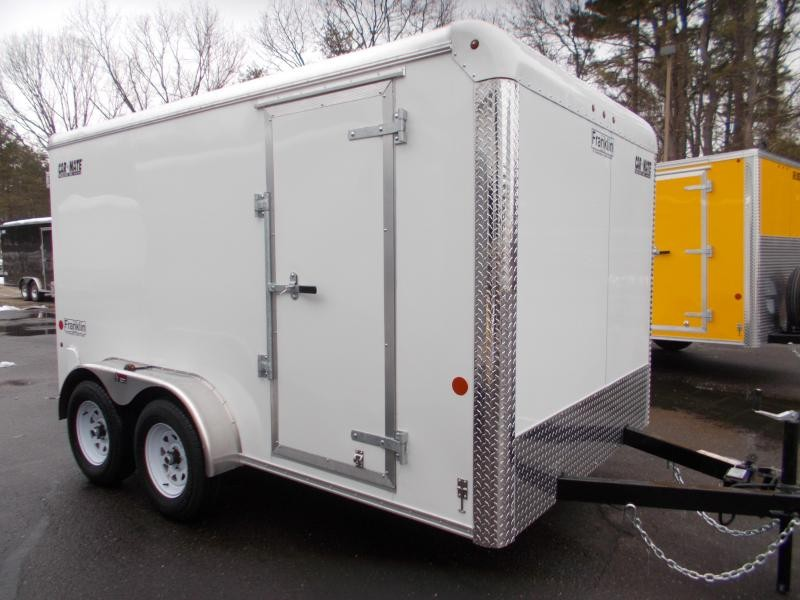 2021 Car Mate 7x12 Enclosed Cargo Trailer 2023551
