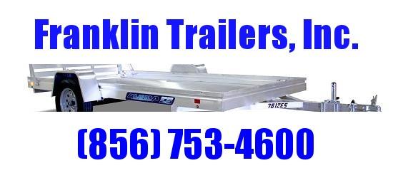 2021 Aluma 7814ES Utility Trailer 2022101