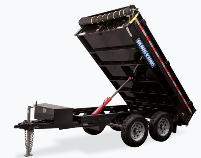 2021 Sure-Trac 6x10 10K  Dump Trailer 2023657