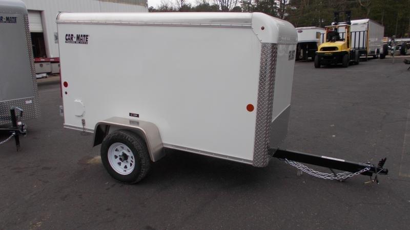 2021 Car Mate 4x8 Enclosed Cargo Trailer 2023389
