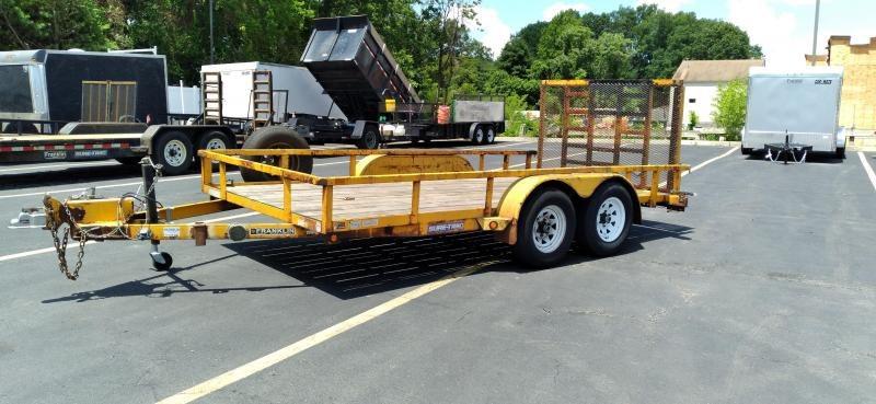 2012 Sure-Trac 7x14 7K Utility Trailer 2024328