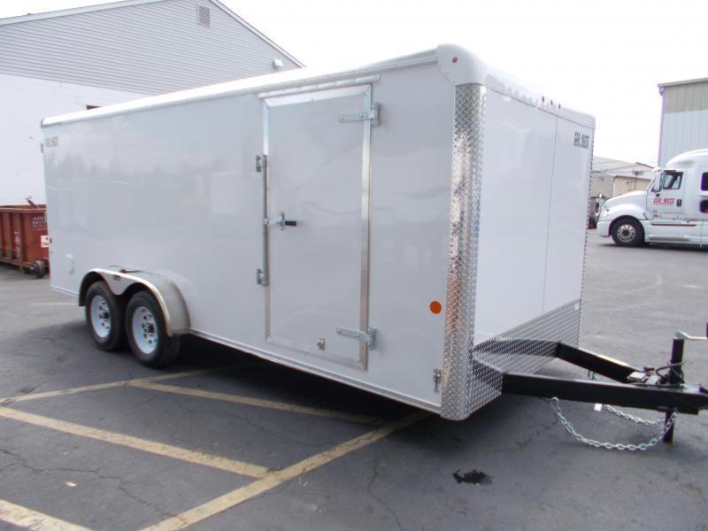 2021 Car Mate 7x18 Enclosed Cargo Trailer 2024254