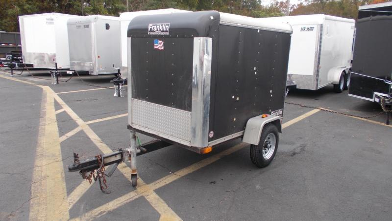 2004 Car Mate 4X6 Enclosed Cargo Trailer 2022988