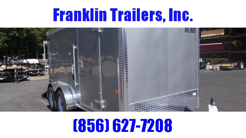 2020 Car Mate 7X14 Tandem Axle Enclosed Cargo Trailer 2022436