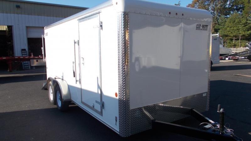 2021 Car Mate Trailers 7x16 Enclosed Cargo Trailer 2022984