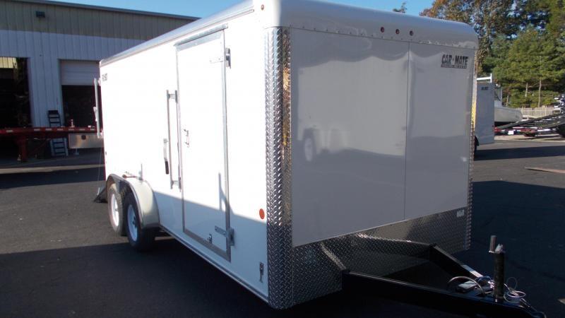 2021 Car Mate 7x16 Enclosed Cargo Trailer 2022984