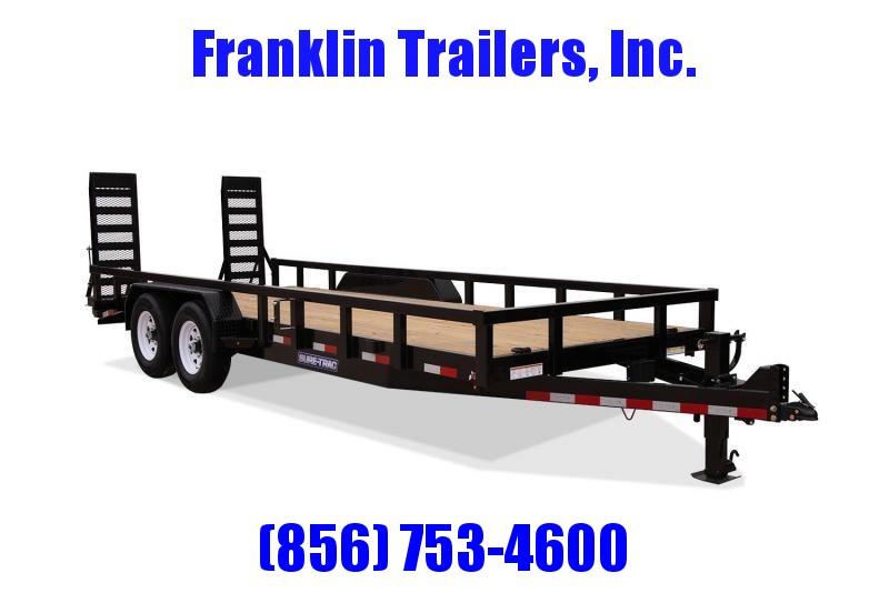 2020 Sure-Trac 7 x 18 Equipment Trailer  14K 2021866