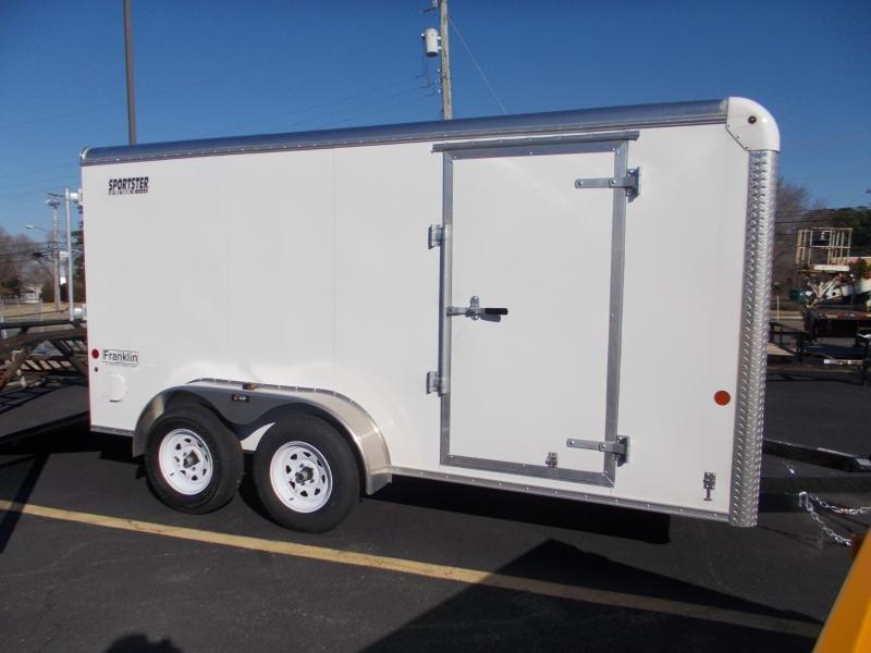 2021 Car Mate 7x14 Enclosed Cargo Trailer 2023674