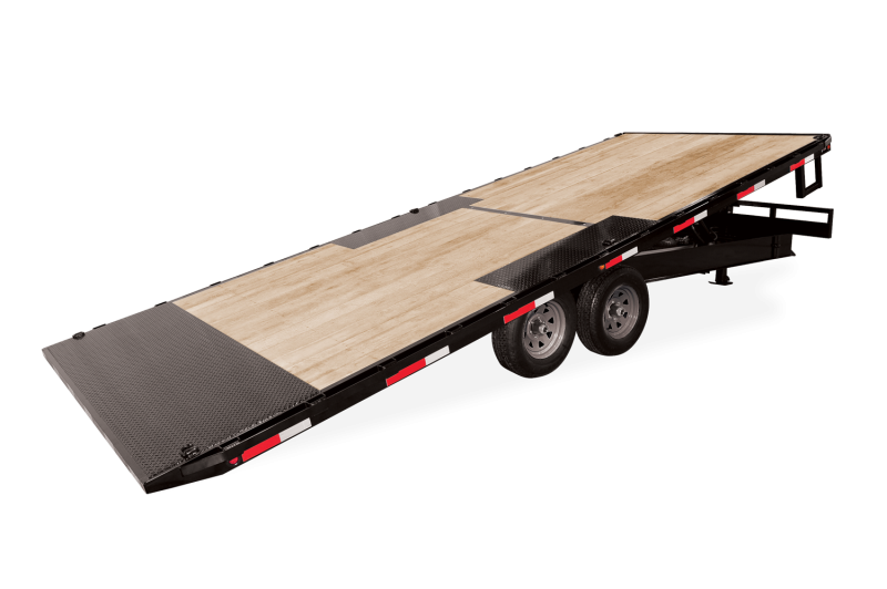2021 Sure-Trac 8.5x22 15K Hydraulic Tilt Flatbed Trailer 2023656