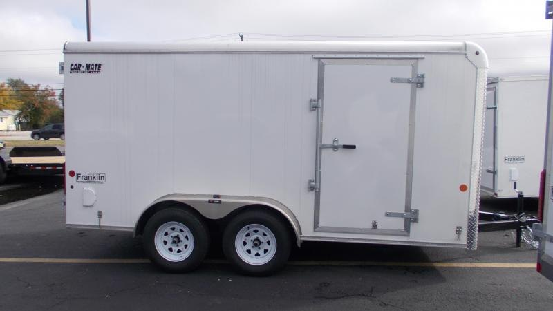 2021 Car Mate Trailers E714CM3T Enclosed Cargo Trailer 2022976