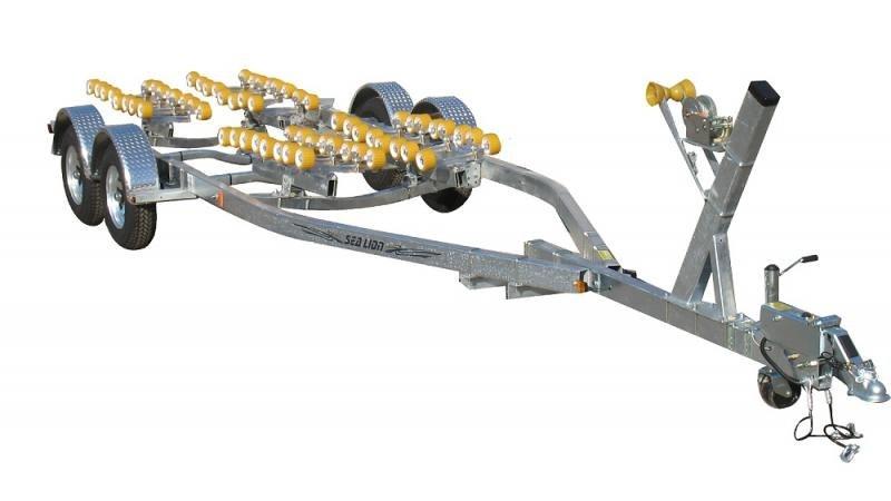 2021 Sealion Trailers SE-24T-5400B Tandem Torsion Axle Boat Trailer 2024288