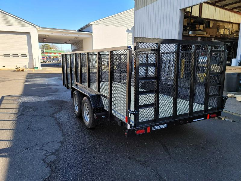 2021 Sure-Trac 7x16 Tube Top 7K High Side Utility Trailer  2023611