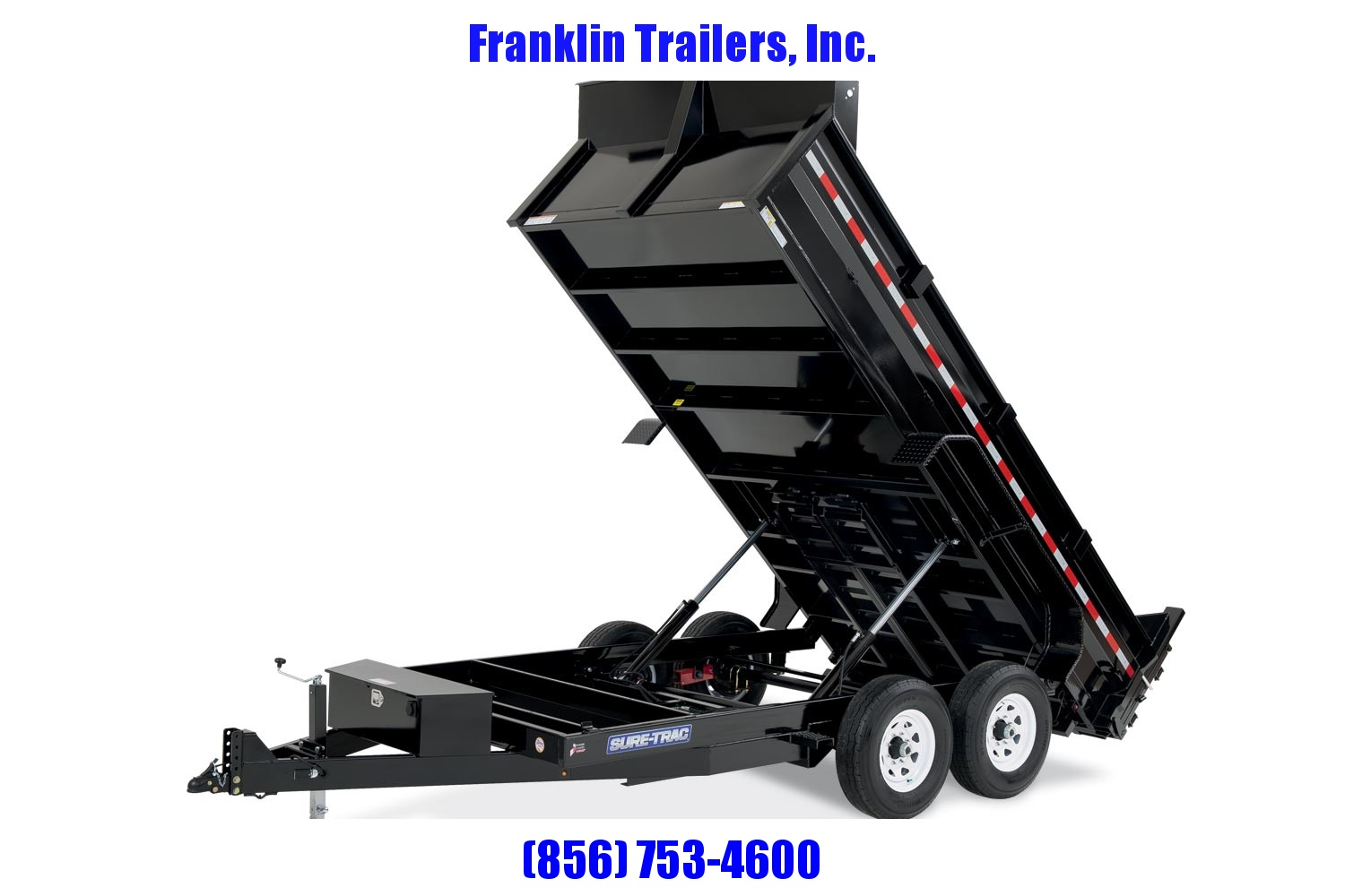 2020 Sure-Trac 82 IN X 14 LP 14K Dual Ram Dump  STOCK# 2022202